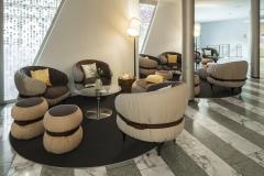 Lounge bei Reception 2. Seehotel Wilerbad