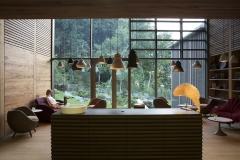Spa Lounge mit Wald