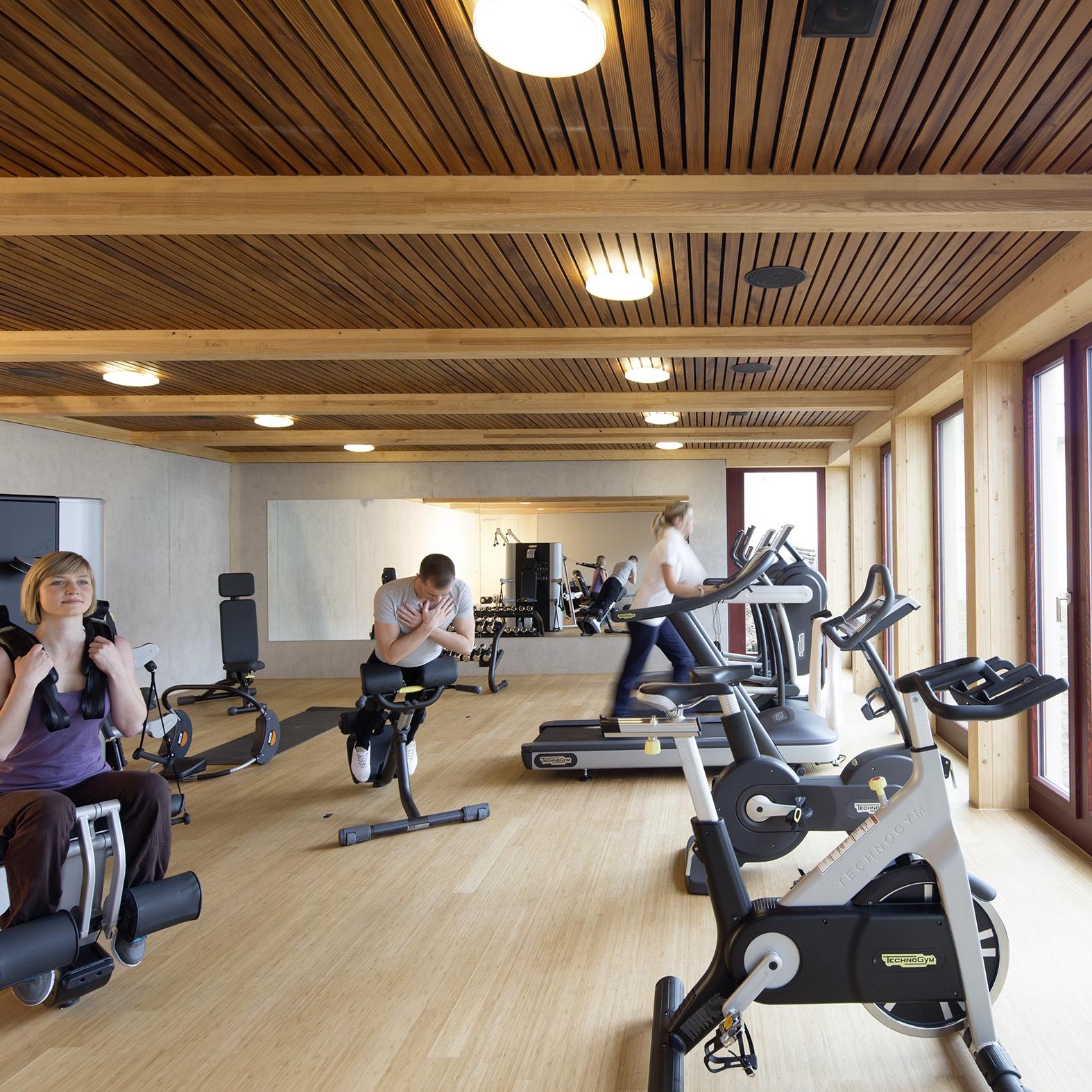 Fitness im Seehotel Wilerbad