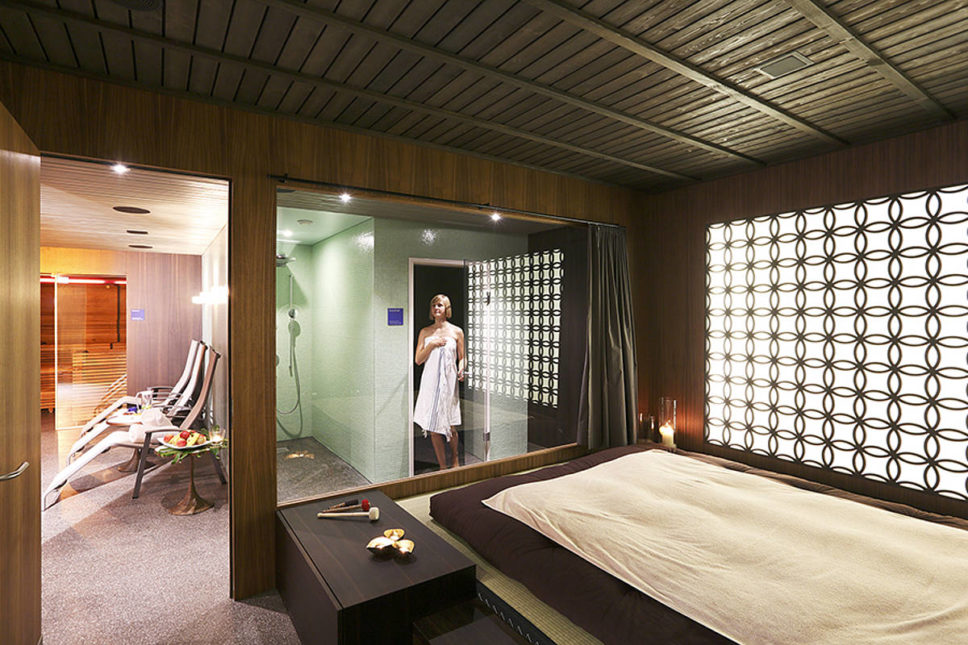 Private Spa im Seehotel Wilerbad