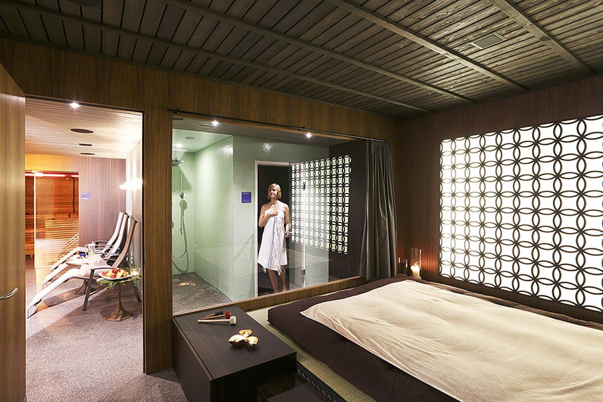 Private Spa im Seehotel Wilerbad