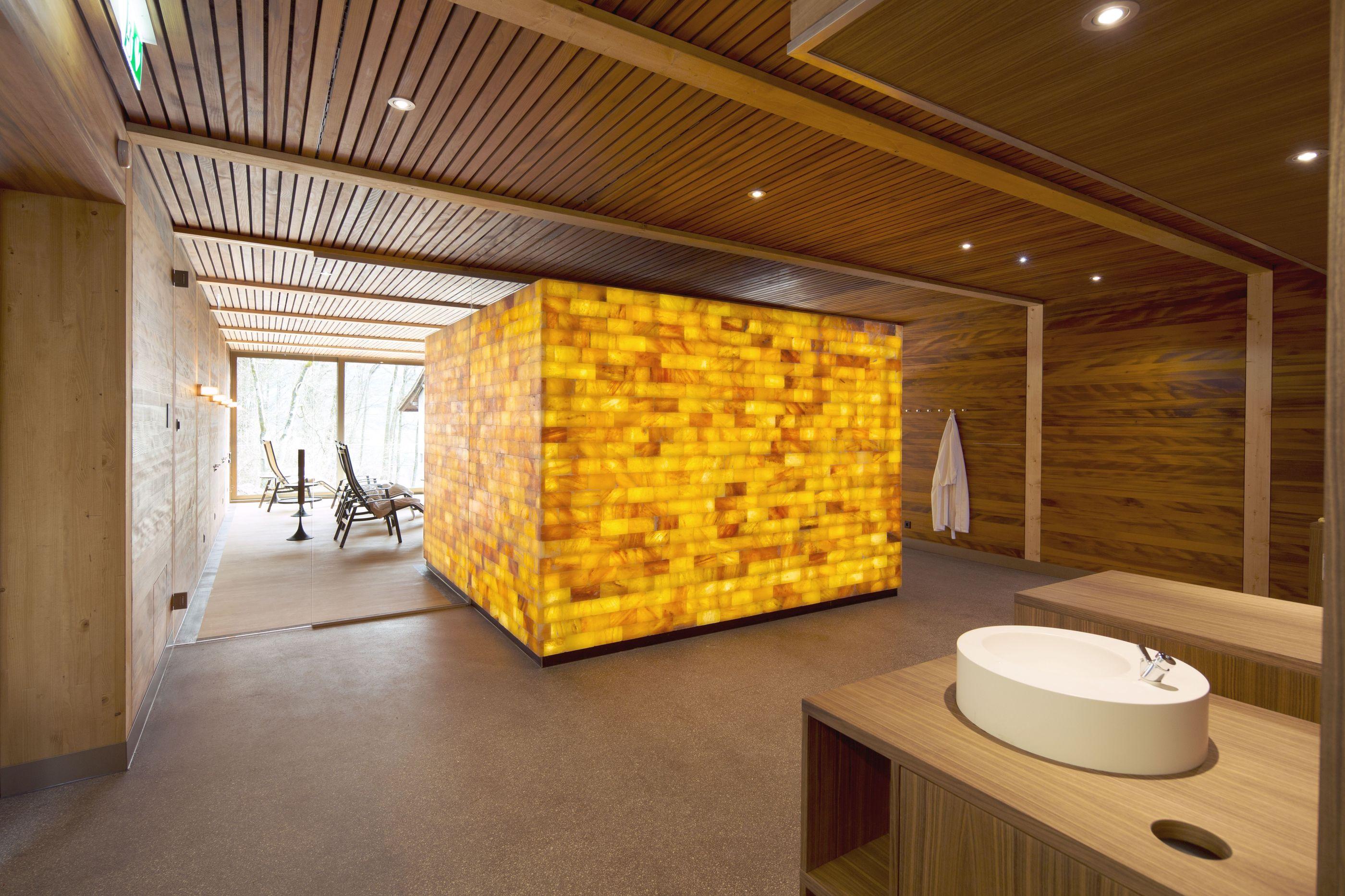 Himalayasalz Sauna 3 Seehotel Wilerbad