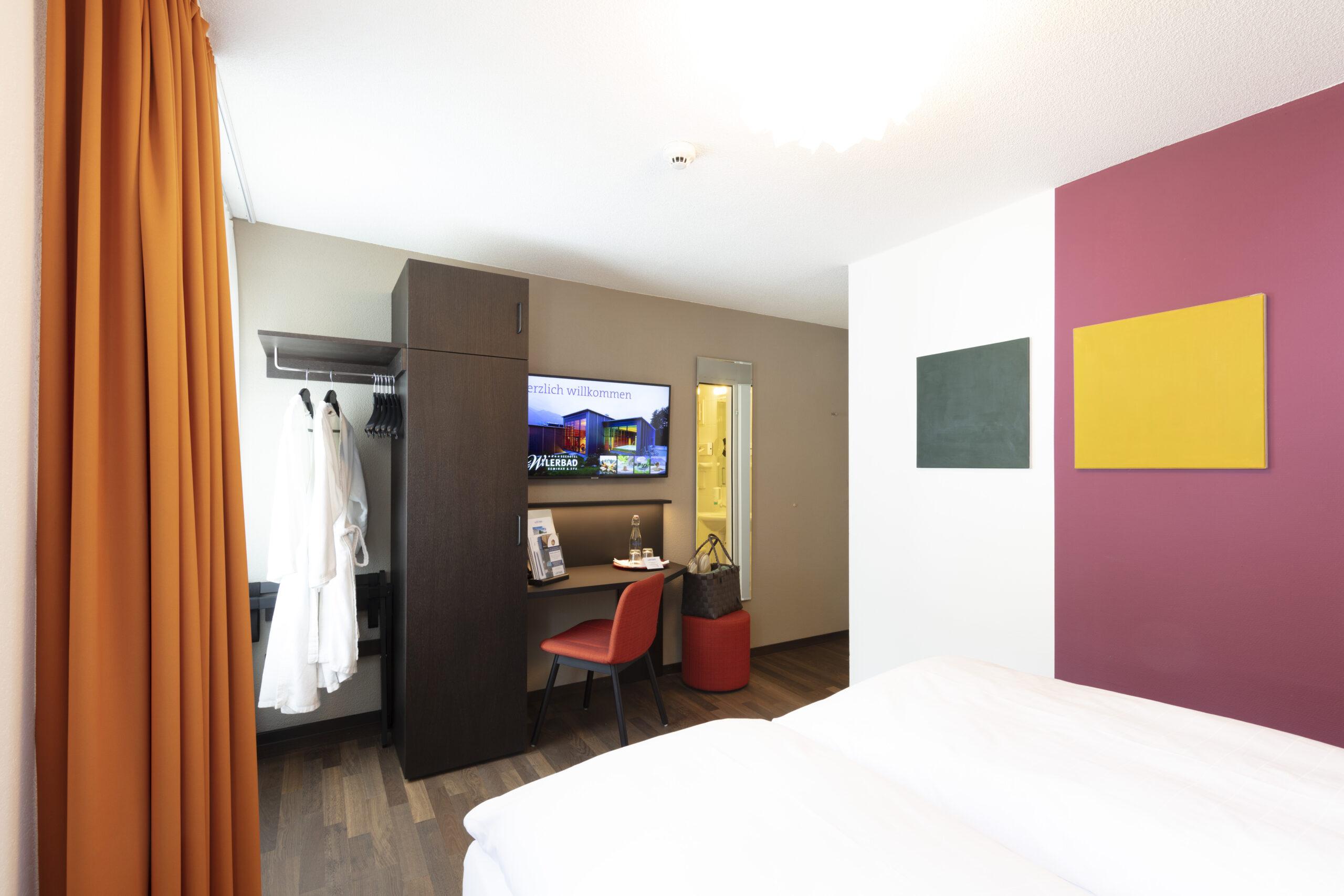 Grandlit Zimmer Seehotel Wilerbad Seminar & Spa 3