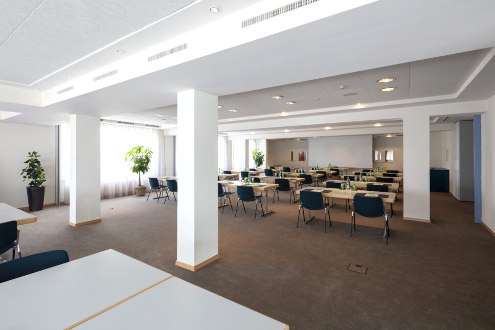 Seminarraum Saphir&Azurit&Diamant1+2 im Seehotel Wilerbad Seminar&Spa